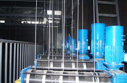 单层缠绕式吊杆机