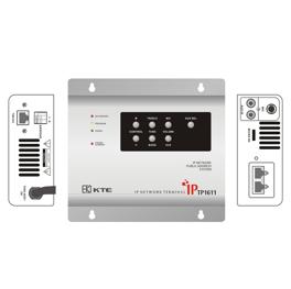 IP网络音频终端   型号TP1613(2*25W定阻输出)