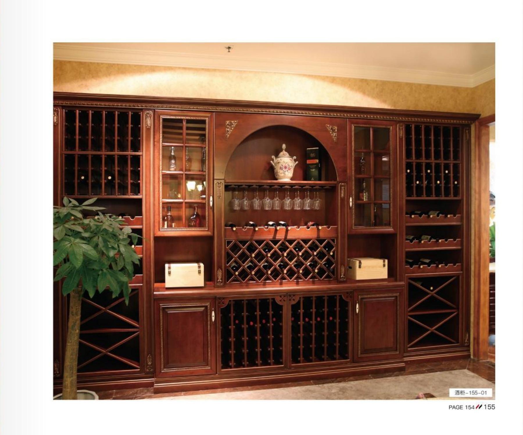 格兰伯爵酒柜定制  整体酒柜 个性化高端酒窖定制 实木酒柜 全屋家具定制
