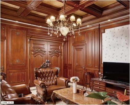 欧式经典风格案例-36-28/37-29  格兰伯爵全屋定制 欧式整装家居