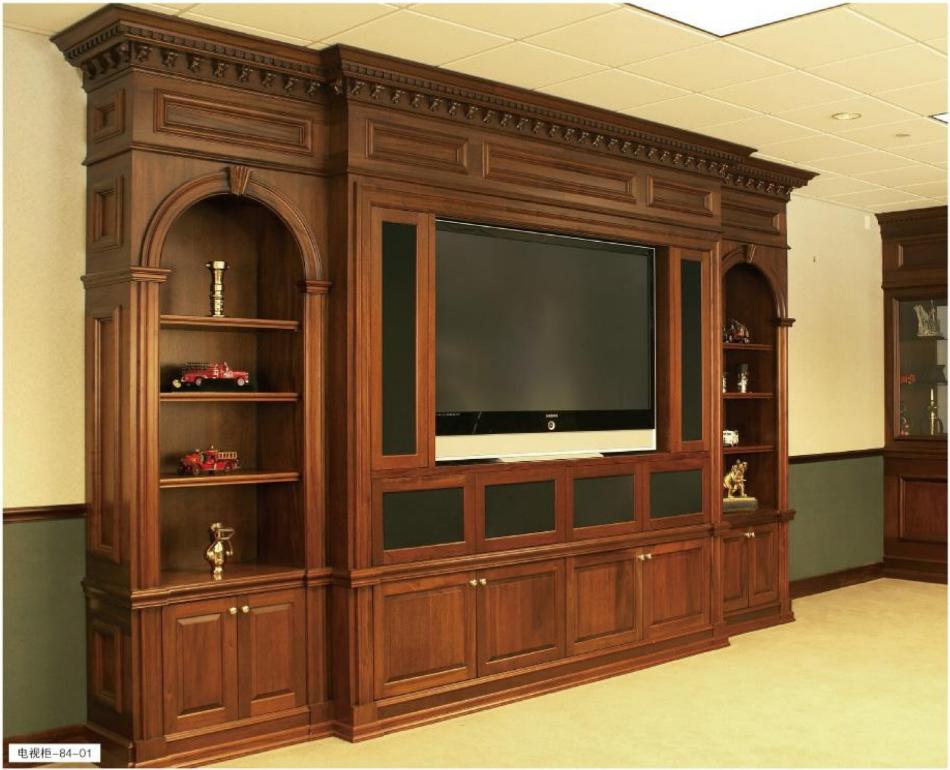 格兰伯爵全屋定制  高端实木电视柜 全房私人家具定制