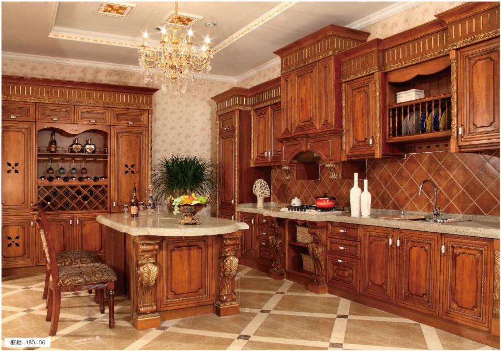 全屋家具定制  格兰伯爵整体橱柜 全实木橱柜门板 2020整体橱柜新风尚 现代简约风橱柜
