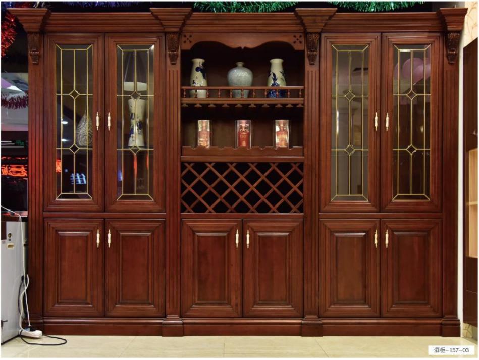 格兰伯爵酒柜定制 整体酒柜 高端实木酒窖私人定制 隔断柜 全房家具定制