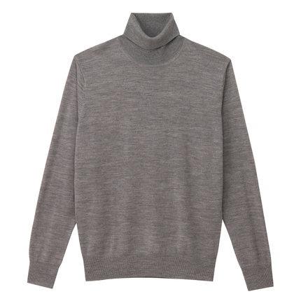 恒源祥女士圆领羊绒衫秋冬季新款纯色纯羊绒套头毛衣商务厚毛衫女