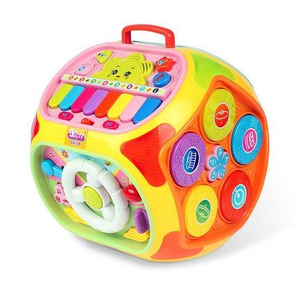 宝丽多功能游戏桌益智学习屋宝宝早教智力智慧屋宝宝玩具台2