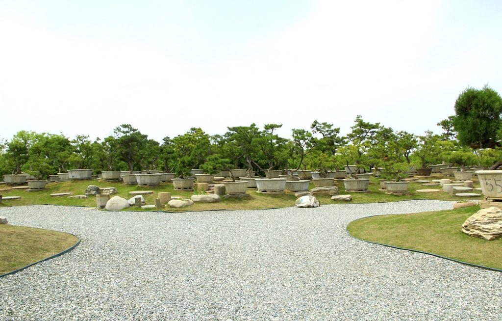 园林绿化规划草石隔离带造型多样