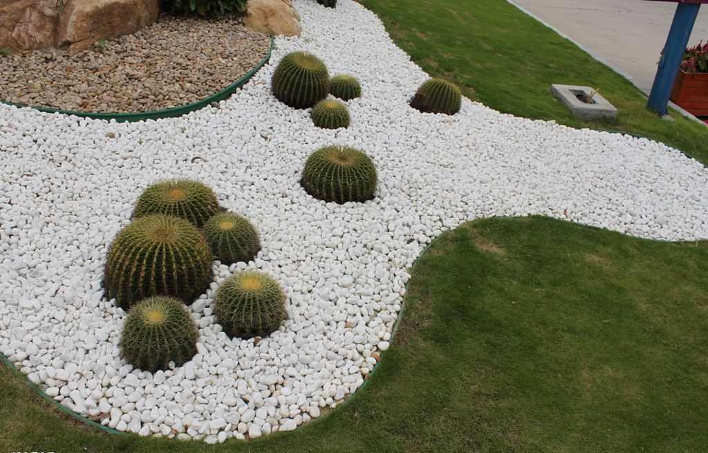 成都草石隔离带绿化造型施工