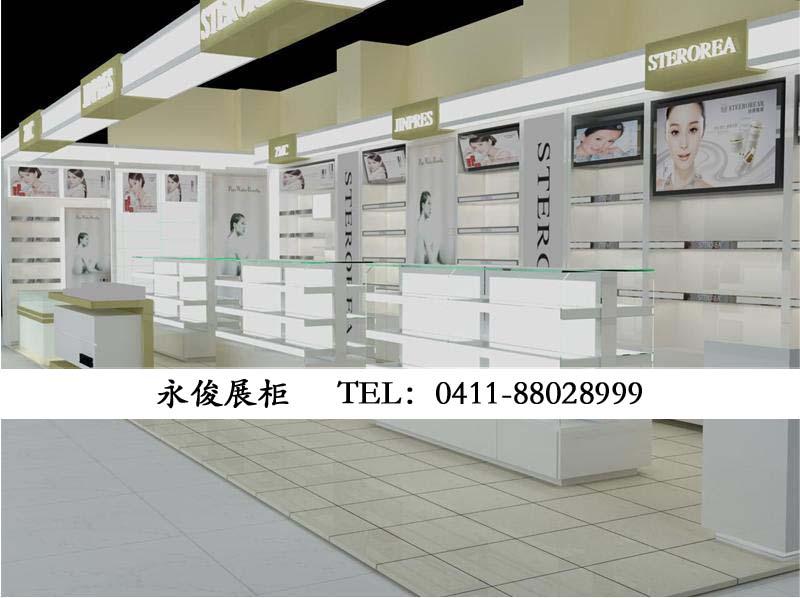 化妆品展柜案例