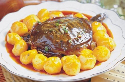 土豆烧甲鱼