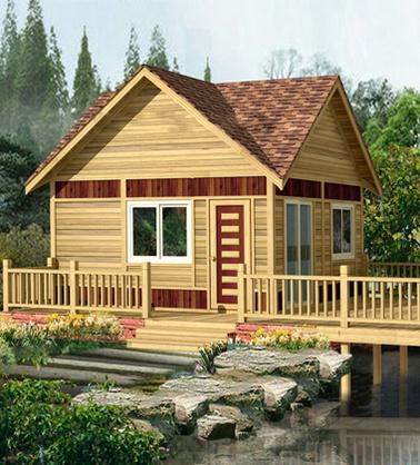 舒适的木屋别墅