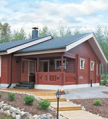 环保的木屋别墅