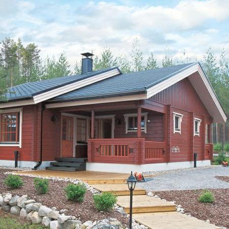 木屋别墅景观