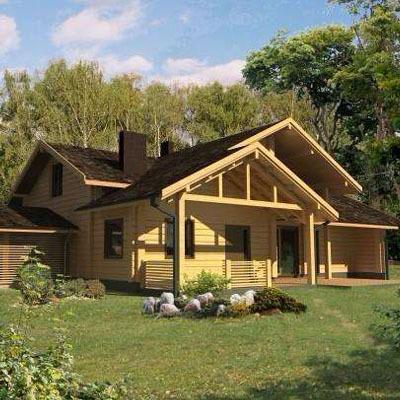 木屋定制的主要四种建造风格