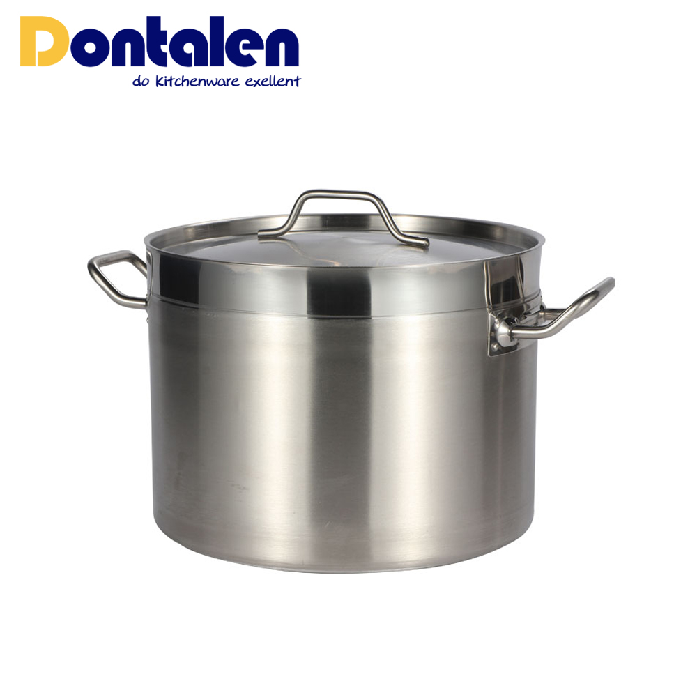 04 Style low body stock pot
