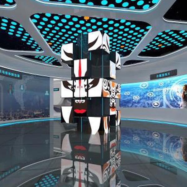 展览馆旋转LED显示屏