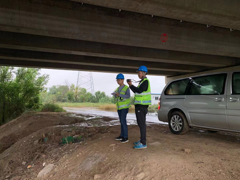 滨州市高速公路桥梁检测照片