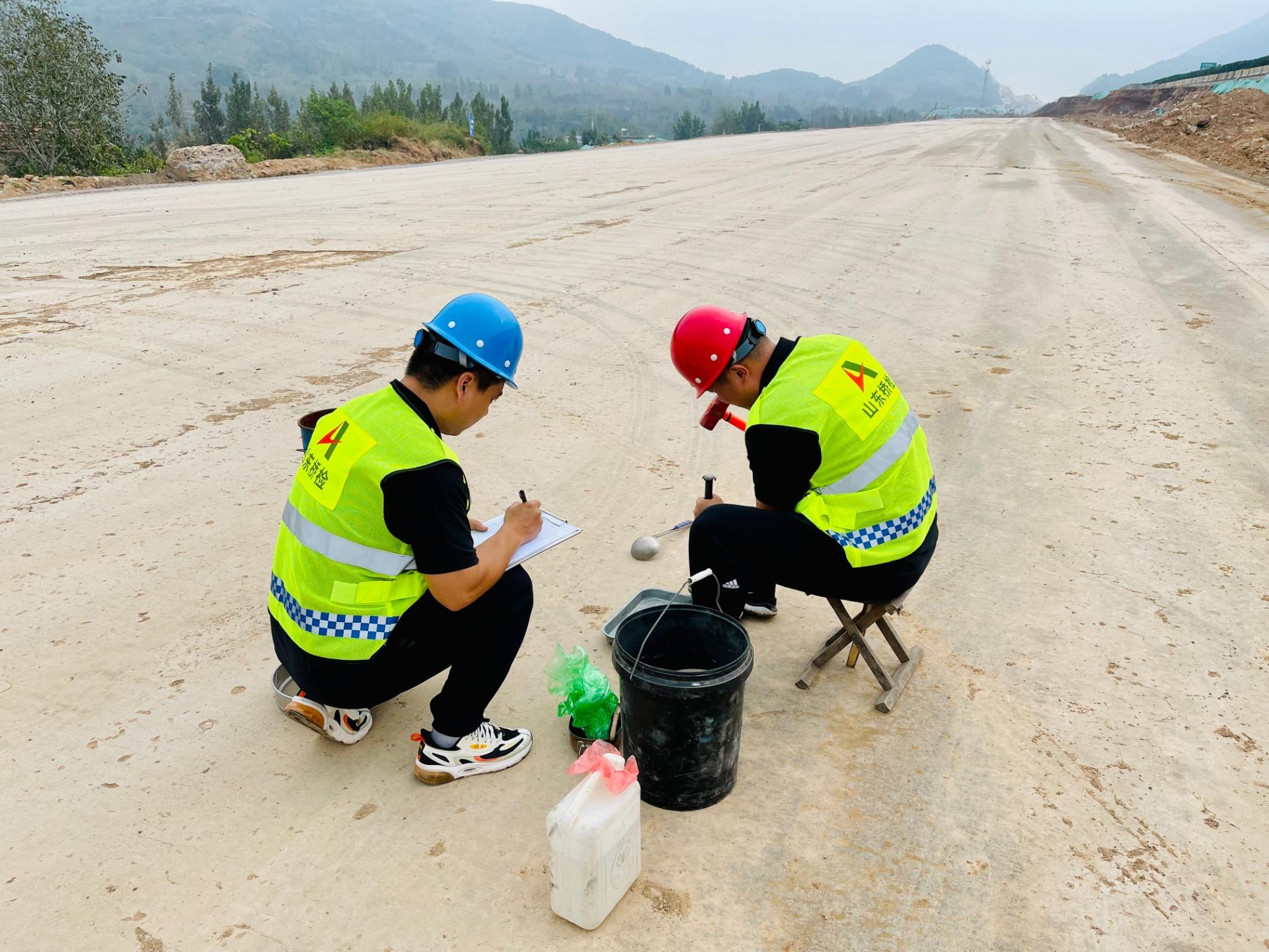 2 京台高速济南至泰安段改扩建项目路基交工验收检测