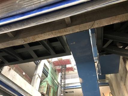 商場扶梯平行群組改交叉群組整改加固工程