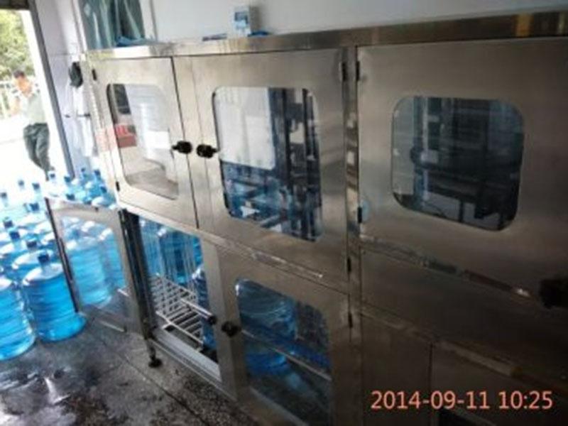 柳州水廠灌裝機