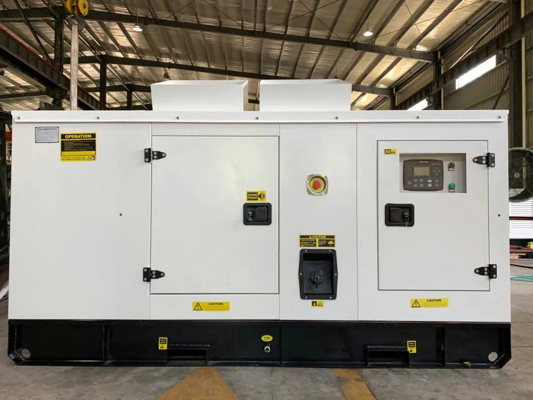 Silent Diesel Generator 50kVA 40kw