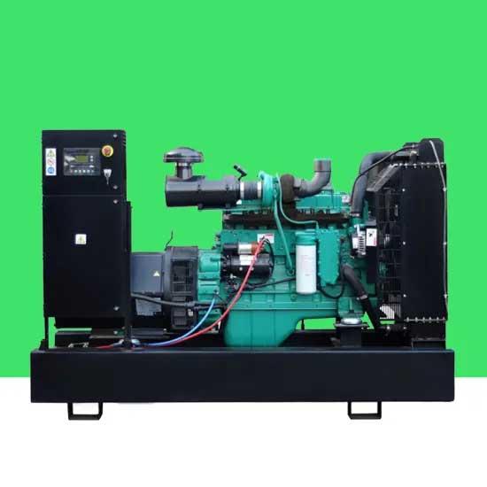 由4BTA3.9-G2发动机提供动力的40kw开放式柴油发电机