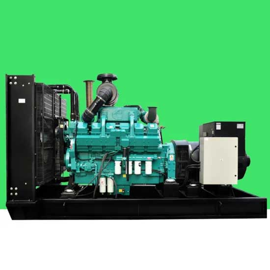 625kVA / 500kw Diesel Generator Open Type Powered by Engine Ktaa19-G6a