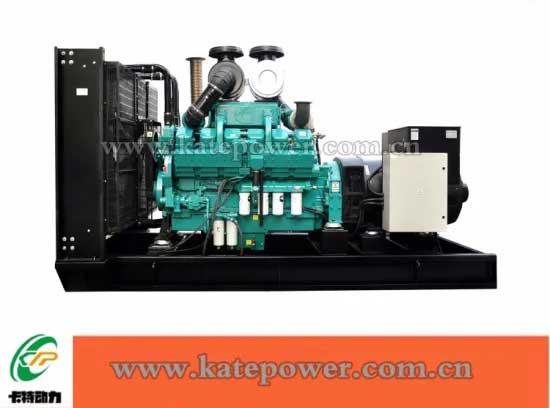 带有发动机6bt5.9-G2的100kVA开放式柴油发电机