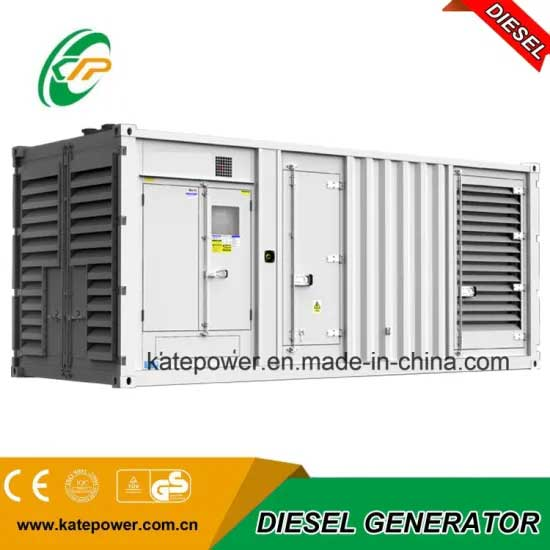 1100kVA Containerized Diesel Generator with Engine and Stamford Alternator