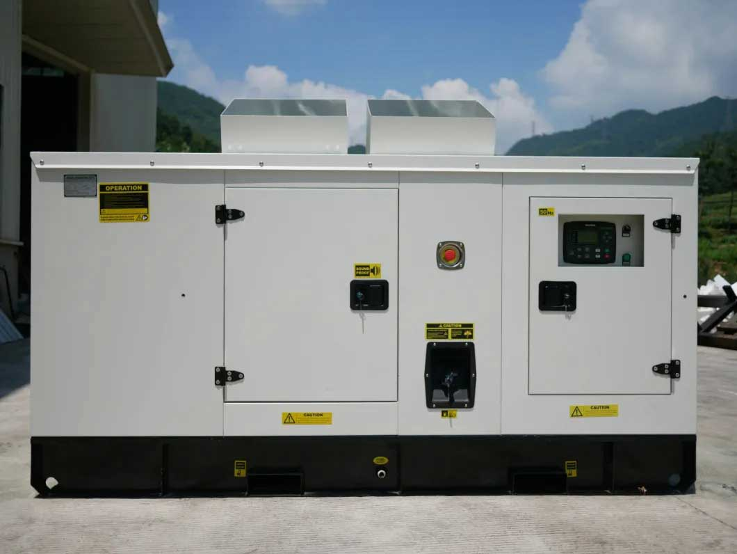 100kVA/80kw Silent Diesel Generator with Engine and Stamford Alternator