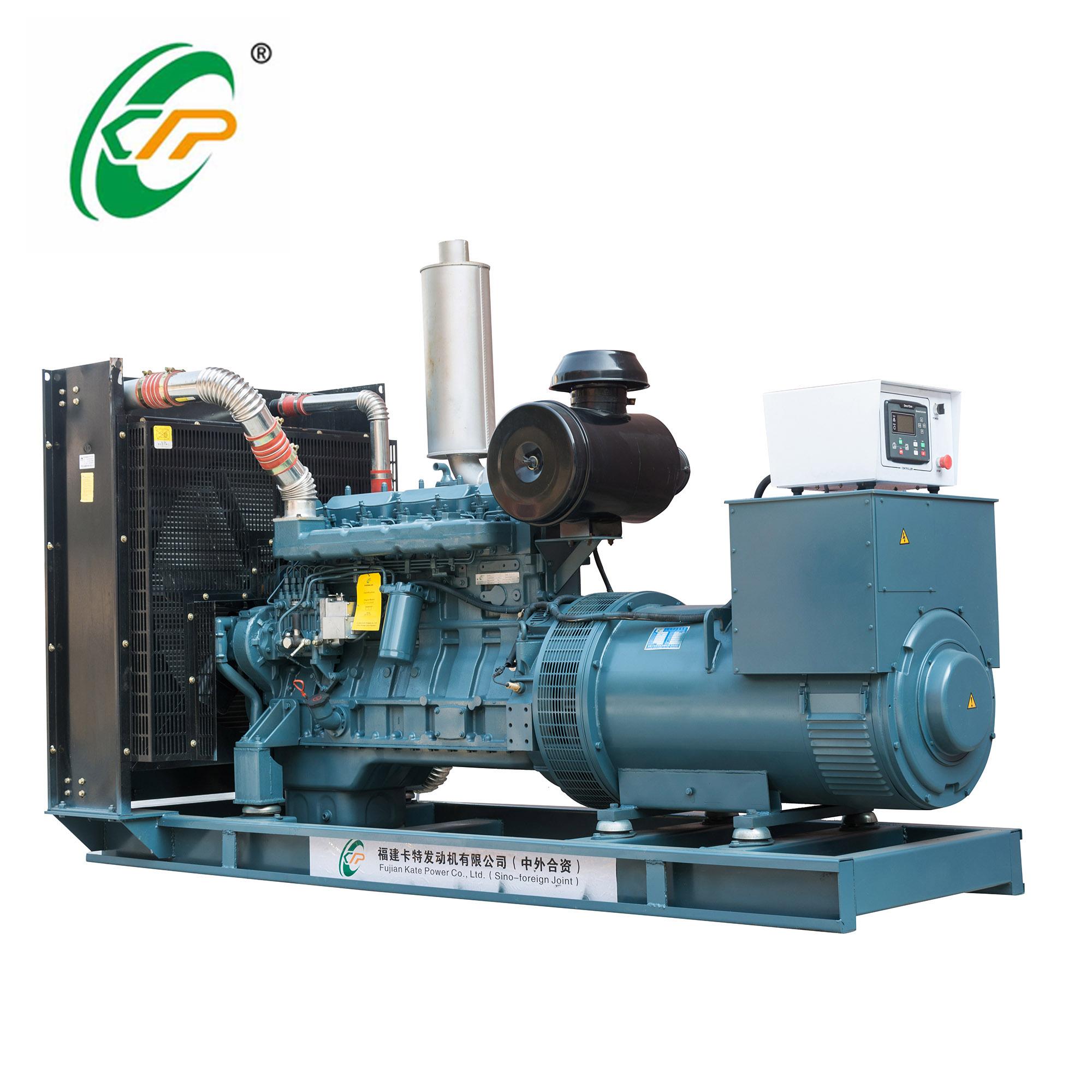 福建卡特开架式柴油发电机组