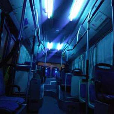 沈阳公交车吸顶式紫外线消毒(灯)套装