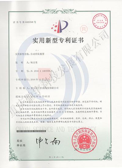 专利6-自动排队装置
