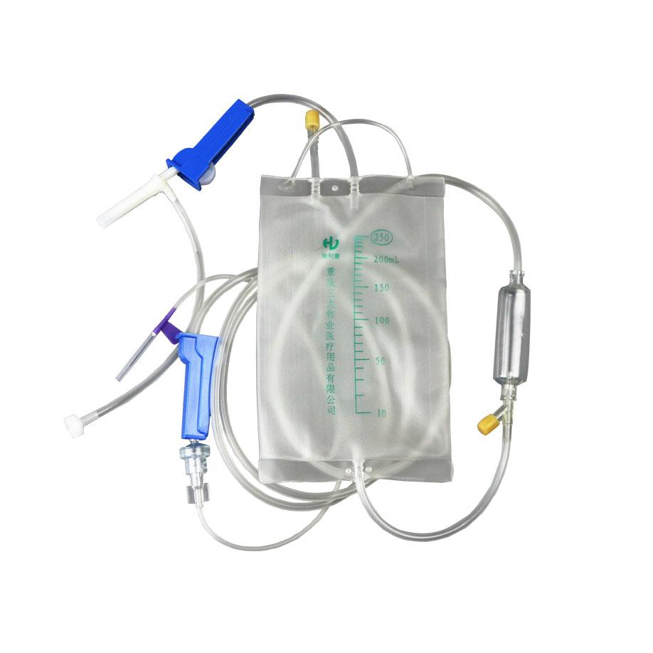 渝利康袋式输液器带针