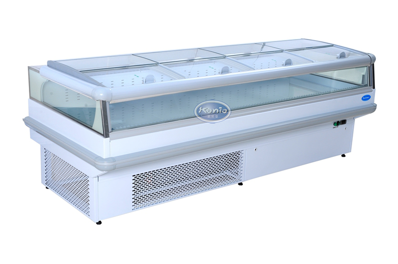 整机冷冻柜台柜