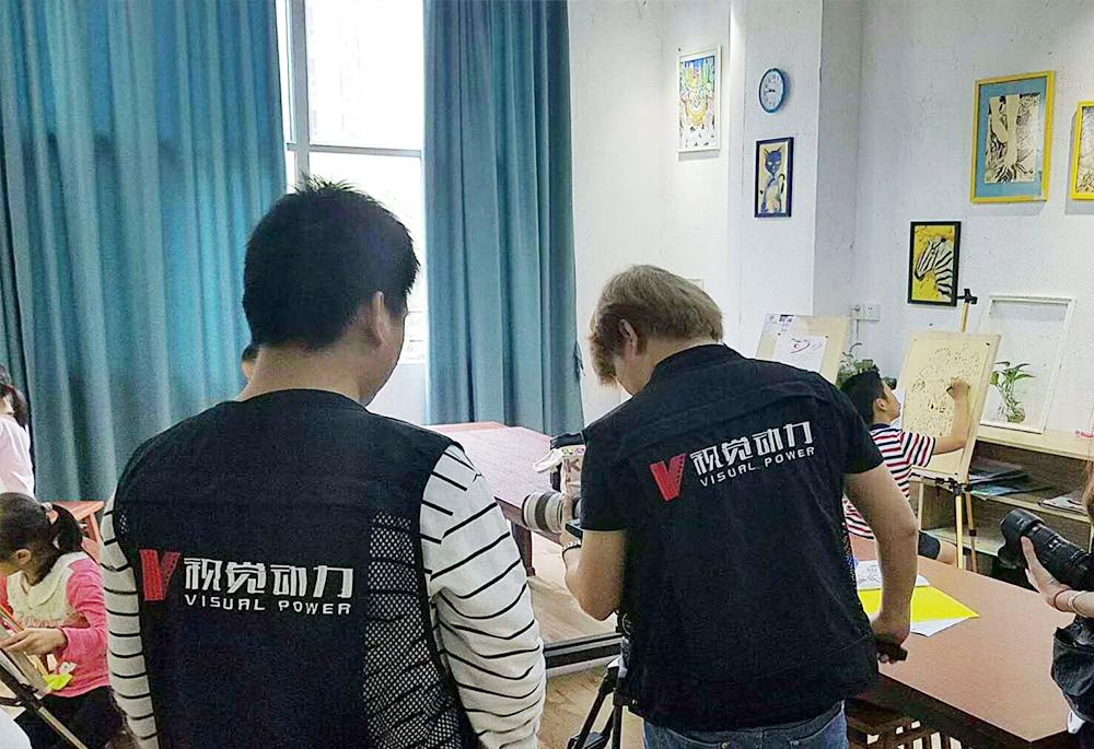 肇庆树华美术形象宣传片《树华时代 美育新一代》正式杀青