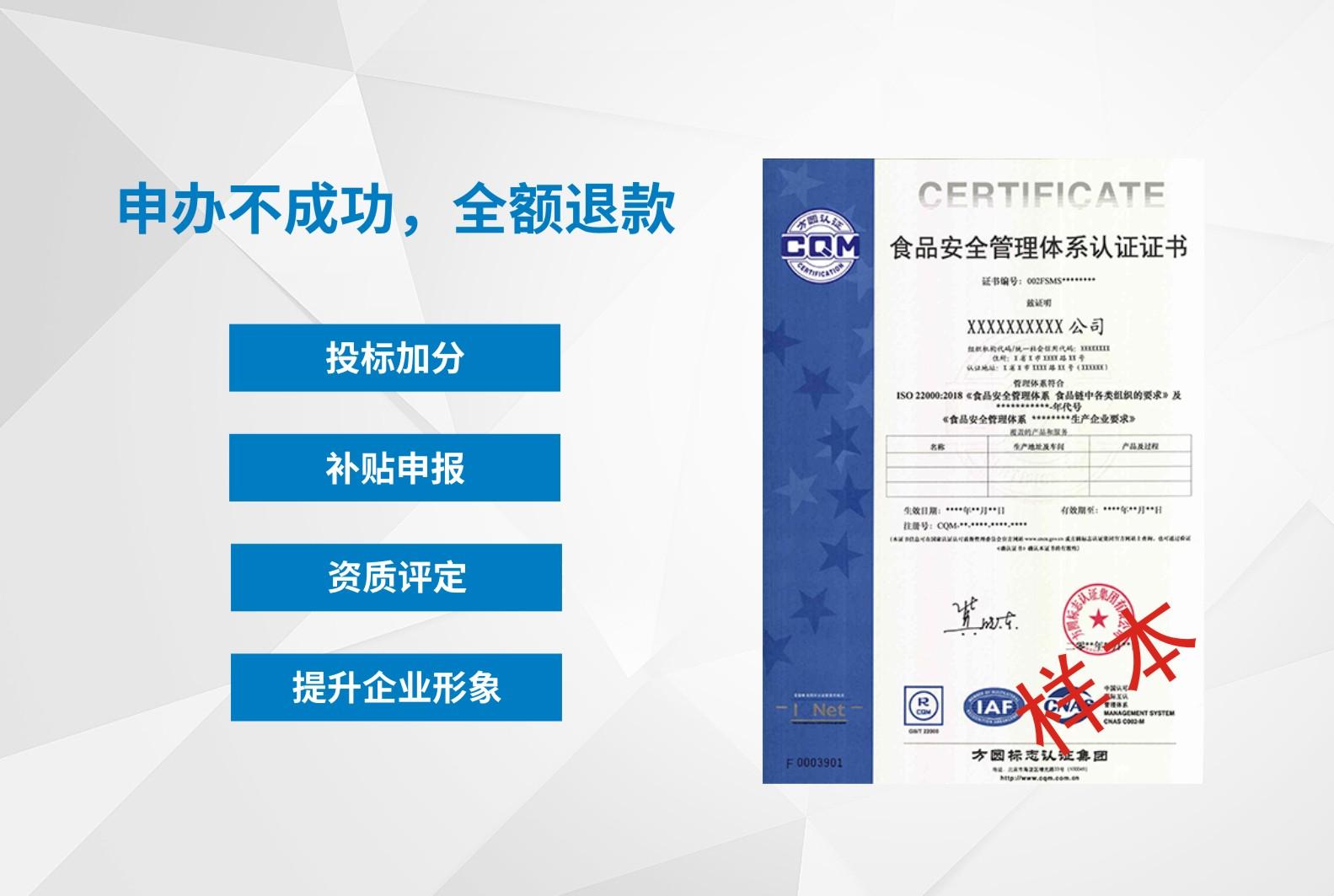 ISO22000-食品安全體系
