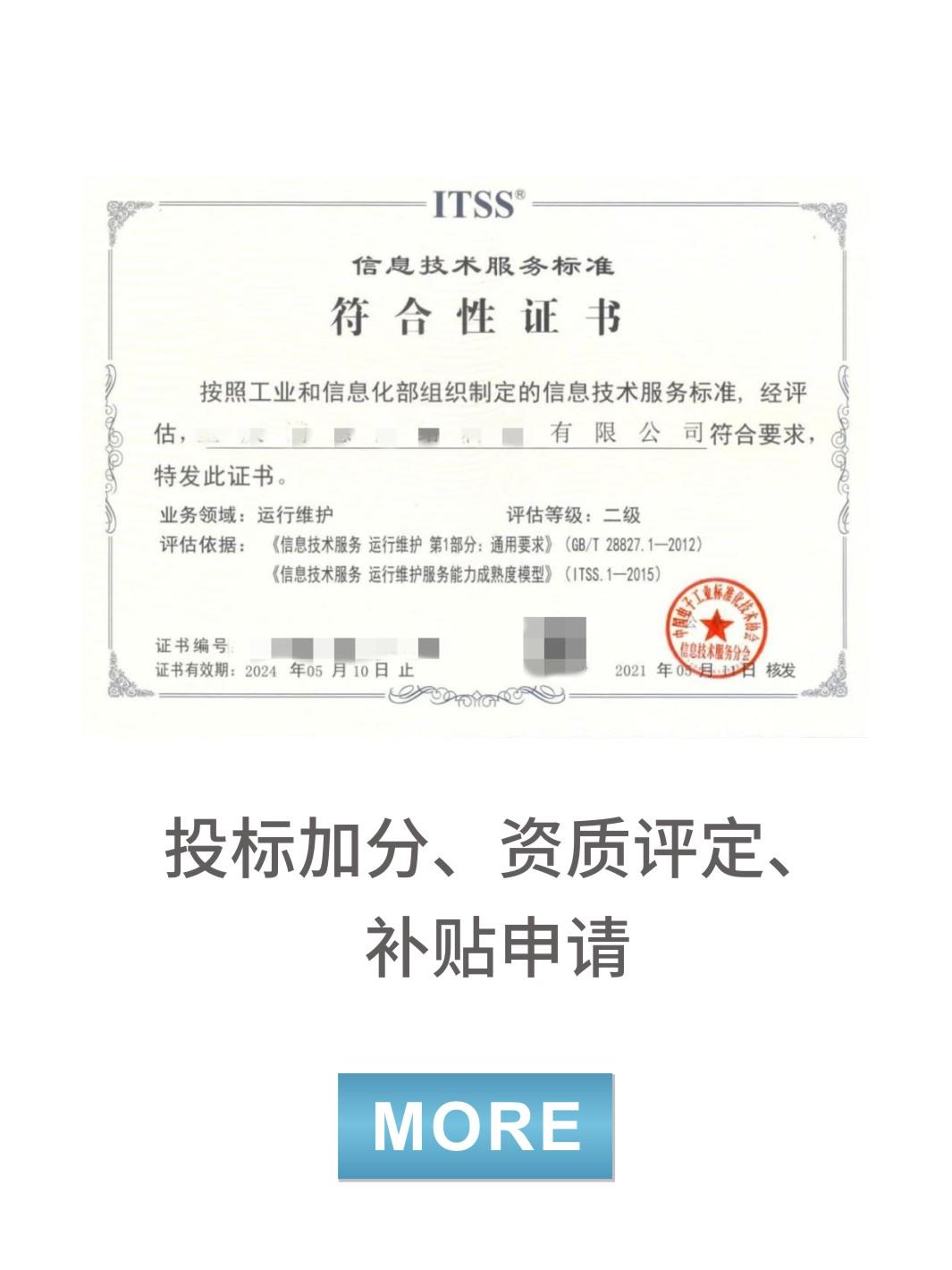 ITSS信息技術服務標準