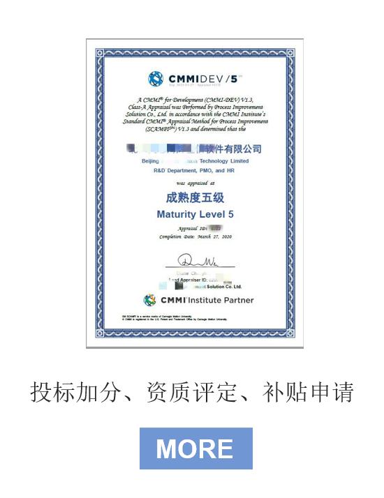 CMMI能力成熟度評估