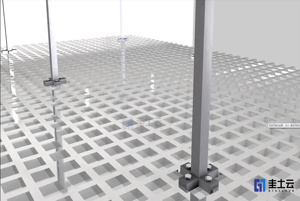 火山吊顶-3D打印