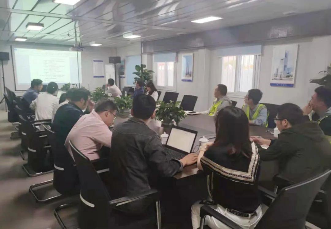 圭土云举办虹桥疾控中心新建工程项目协同平台培训会