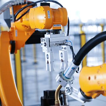 焊接工业机械