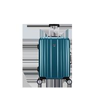 蓝色拉杆行李箱
