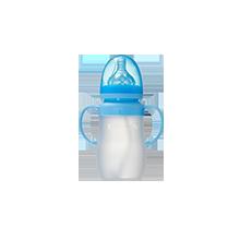 宽口硅胶奶瓶