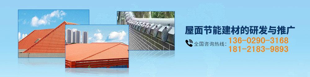 屋面节能建材合成树脂瓦