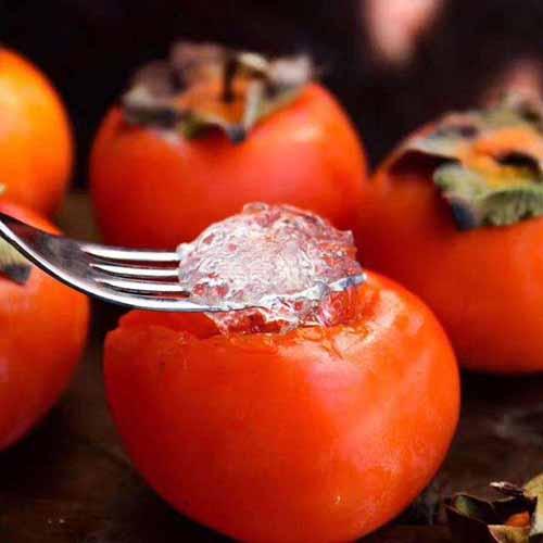 燕窝冰糖柿子