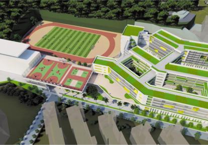 田东中学教学楼拆除重建工程项目
