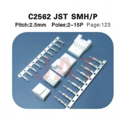 JST SMH/P C2562 2.5MM