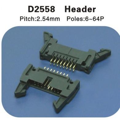 Header 2.54牛角 D2558