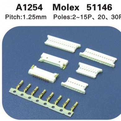 Molex51146连接器 A1254