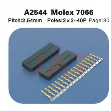 MOLEX 7066 A2544 2.54MM